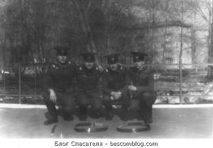 Сержанты 224-й учебной роты