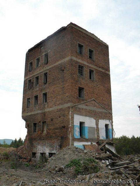 Здание грохотов