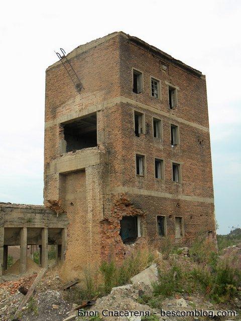 Здание грохочения
