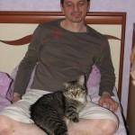 Домашний кот Боцман!