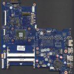 Материнская плата (скан в высоком разрешении) ABL51 LA-C781P Rev.1.0 ноутбука HP 15-af124ur