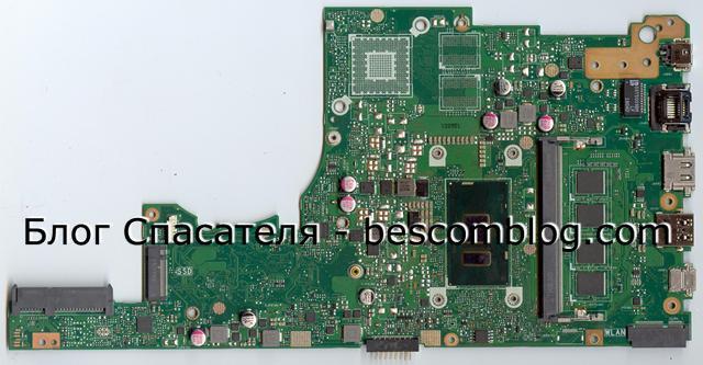 Asus X405UQ Rev:2.2